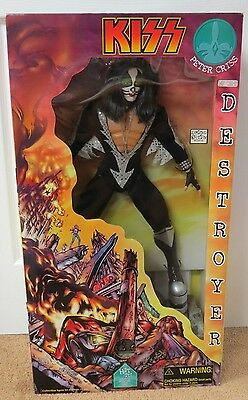 Kiss Destroyer Peter Criss 2 Foot Doll In Box - Still Works!