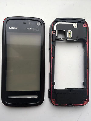 Genuine Nokia 5800 XpressMusic Front Fascia Touch Screen Digitizer Back Housing