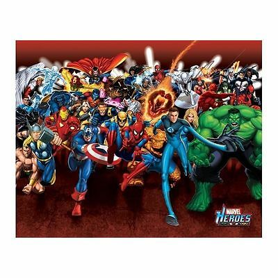 Mini poster Marvel Heroes Attack