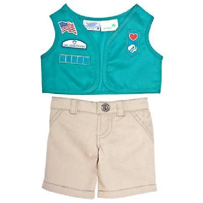Build a Bear Clothing - New Girl Scout Junior Uniform 2 pc.