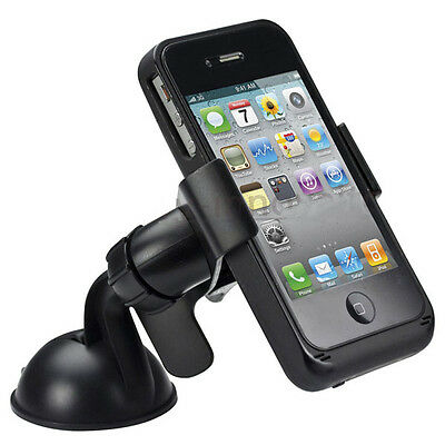 Universal Car Windshield Mount Holder For iPhone iPod GPS Samsung