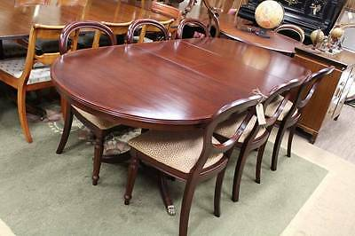 A Regency Mahogany Extension Dining Table - Chairs in other Listing