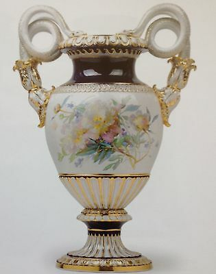 Impressive large Meissen vase high 31 inches, maybe the only one in the world