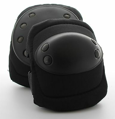 1776 Ironclad Knee Pads and Elbow Pads (Pair Each) Black One Size Comfort Fit