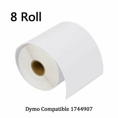 DYMO 4XL Direct Thermal Shipping Labels 4x6 8 Rolls1744907 compatible 220/Roll
