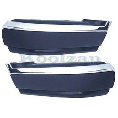 For 00-06 Tundra Pickup Front Bumper Face Bar Extension End Left Right PAIR SET