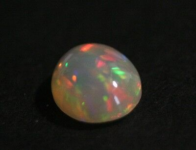 2.85ct Welo Crystal Opal Cabochon - Rainbow Flash AAA Jelly Opal - See Video