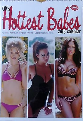 Uk's Hottest Babes 2015 Calendar Lucy Pinder Alice Goodwin India Sammy Braddy