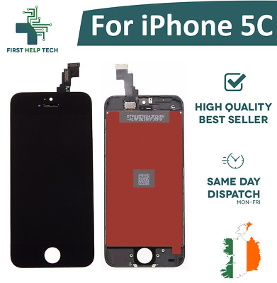 For iPhone 5C LCD Touch Screen  Digitzer Replacement Glass Assembly Full Black