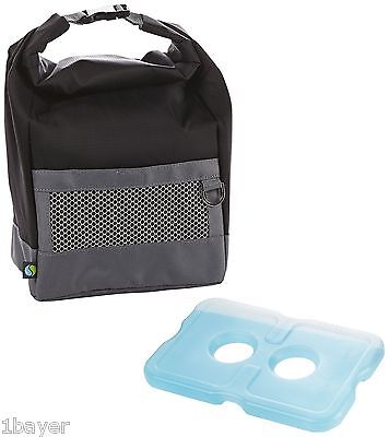 Fit & Fresh Sport Cooler Lunch Dinner Travel Backpack Meal Container Box Bag