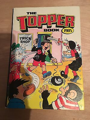The Topper Book 1985 DC Thompson, Tricky Dicky, Beryl the Peril