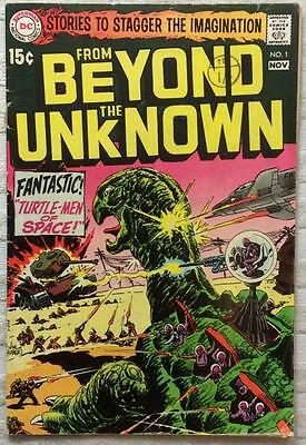 From Beyond the Unknown #1 (1967 DC 1st series) VG cond. 47yrs old Silver Age