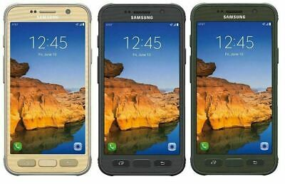 Samsung Galaxy S7 active SM-G891 32GB Gray/Gold/Green GSM UNLOCKED LTE (AT&T)  A