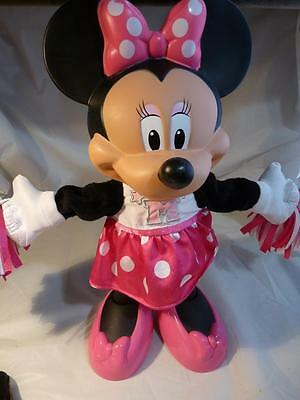 Disney MINNIE MOUSE DOLL Bowtique singing dancing cheerleader Fisher-Price 2012