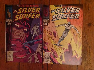 Silver Surfer (Stan Lee/Moebius) - Issues 1 & 2 complete