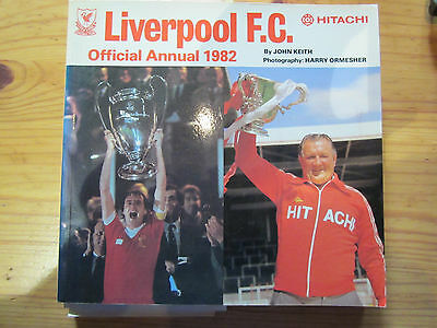 Liverpool FC Official Annual 1982: Mint condition
