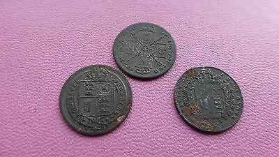 Victoria imitation by Lauer Germany toy money x3 coins    Ref 376