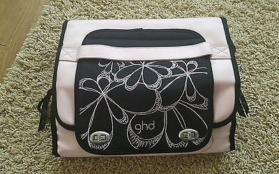 GHD Travel Case Limited Edition Travel Bag Black Pink heat resistant