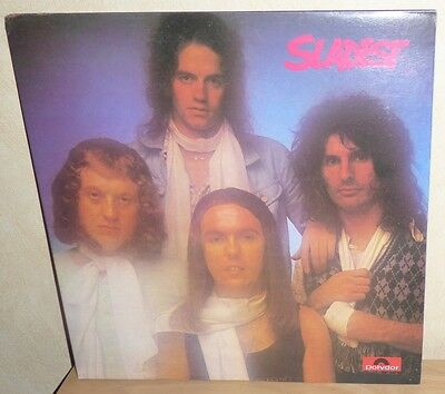 Slade: Sladest. '73 Polydor UK 2442 119. gatefold Booklet cover.