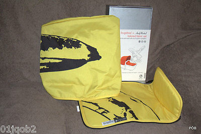 Brand New Rare Bugaboo Cameleon Andy Warhol Banana Special Edition Fabric Set