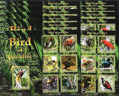 15x Birds.Fauna.Nature - 2017 -  imperf - Private issue!!