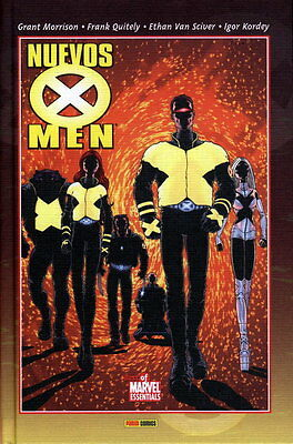 Best Of Marvel Essentials. Nuevos X-Men De Morrison. 7 Tomos (Completa) - Panini