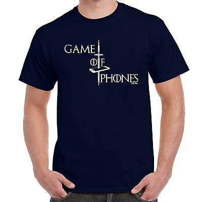 Mens Funny Sayings Slogans T Shirts-Game Of Phones-game Thrones Style tshirt