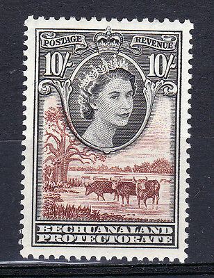 Bechuanaland-1955/58. 10/- Value SG153. Very fresh MM.