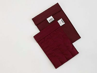 Frio Insulin Large Cooling Travel Wallet Burgundy