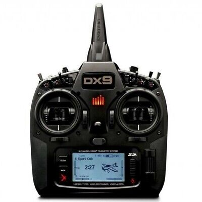 DX9 Black Transmitter Mode 1 SPEKTRUM