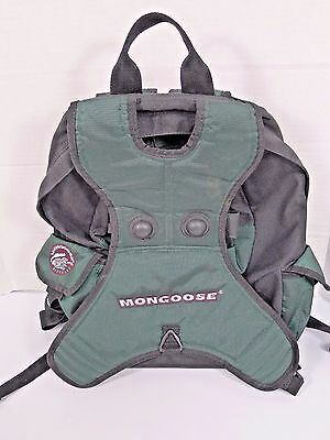MONGOOSE Bicycles Skateboard Longboard Backpack Book Bag Skate Bike Bag