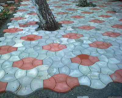 Paver Stepping Stone Mold PS 27042. Concrete Mold, Pavement Stone, Plastic mold