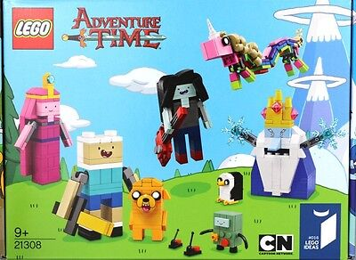 Brand New Lego Ideas: Adventure Time 21308 Sealed In Box