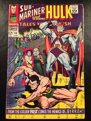 TALES TO ASTONISH #90 VG 4.5 Grade 1st Abomination