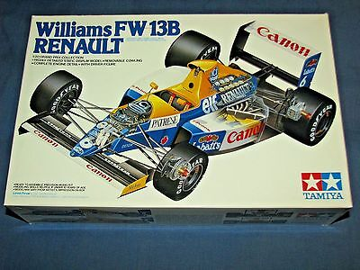 TAMIYA 1:20 Williams FW 13B RENAULT GRAND PRIX COLLECTION NEW Model Kit w/Figure