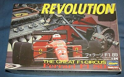 1989 HASEGAWA 1:24 ~Mode Kit FERRARI F1 89 Revolution the Great Formula 1 Circus