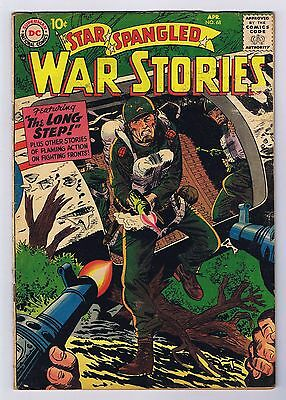 Star Spangled War Stories #68 GD/VG Complete Stories 1958 DC Comics Silver Age