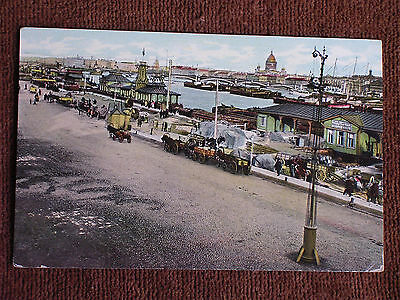 St Petersburg Russia/Nicholas Quay-Neva River Waterfront/Printed Color Photo PC