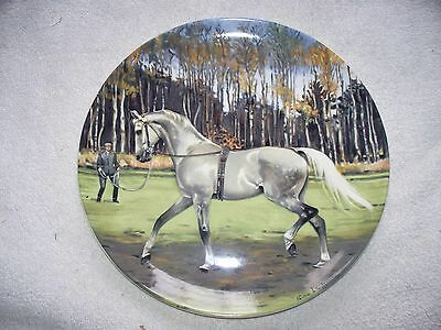 Spode Noble Horse Hanoverian Susie Whitcombe Collector Plate