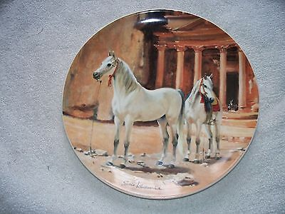 Spode Noble Horse Arabian Susie Whitcombe Collector Plate