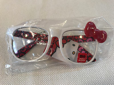 Rare Hello Kitty Sanrio Red Bow Glasses, 2013, NEW WITH TAG