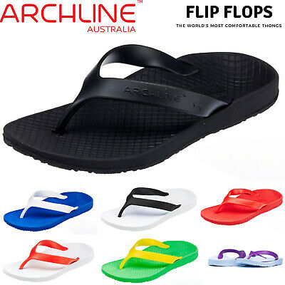 ARCHLINE Orthotic Thongs Arch Support Shoes Medical Footwear Flip Flops New