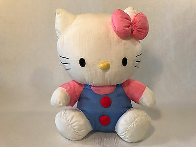 Rare Vintage Hello Kitty Puffy Plush Stuffed Animal, 1996