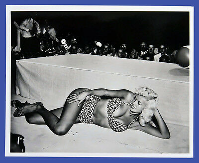 Rare Jayne Mansfield Candid Photo 1 - 1990s Movie Archive 8X10 Print