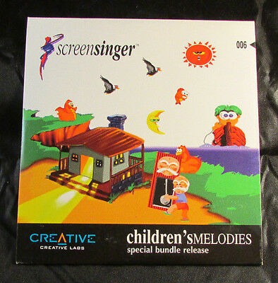 Creative Labs - Children's Melodies - Screen Singer - CD Rom Windows 3.1