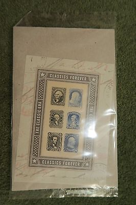 USA  STAMPS 2016 Classics Forever sheet of 6 unopened