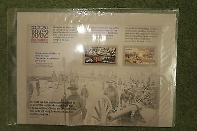 USA  STAMPS 2012 The Civil War 1862 sheet unopened USPS