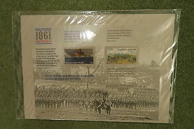 USA  STAMPS 2011 The Civil War 1861 sheet unopened