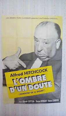 Alfred Hitchcock's Shadow of a Doubt poster