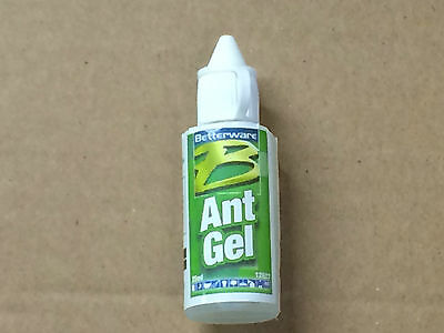 Betterware Ant Killer Gel 25ml Bottles Liquid Formula to eradicate whole colony